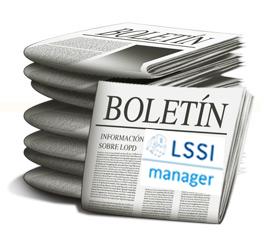 BOLETIN DE NOTICIAS LSSI MANAGER